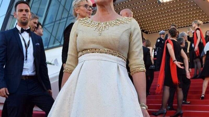 Cannes 2017. Aparitia Ministrului Culturii din Israel a starnit un val de controverse si ironii. Cum arata rochia. FOTO
