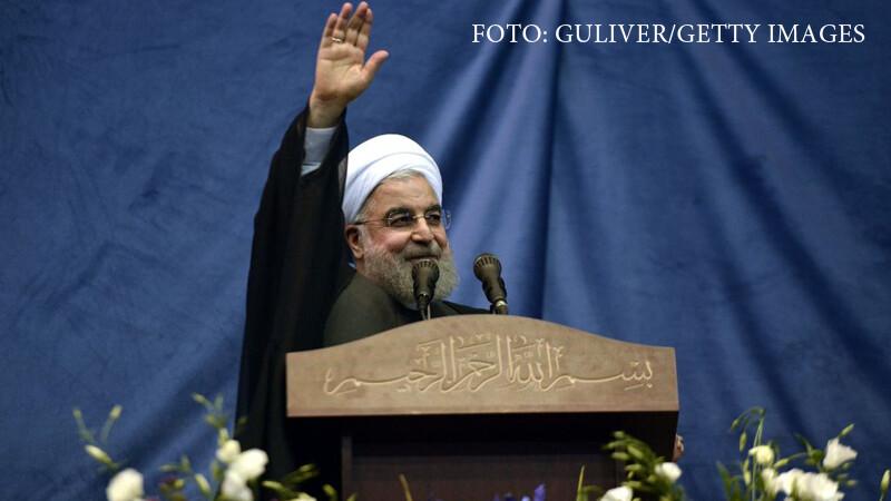 """Președintele Iranului a declarat """"sfârșitul Statului Islamic"""""""