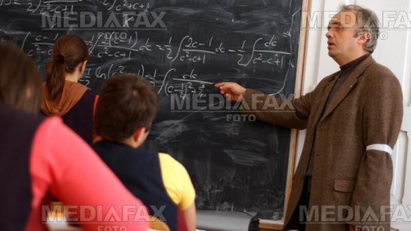 Profesorii, in greva