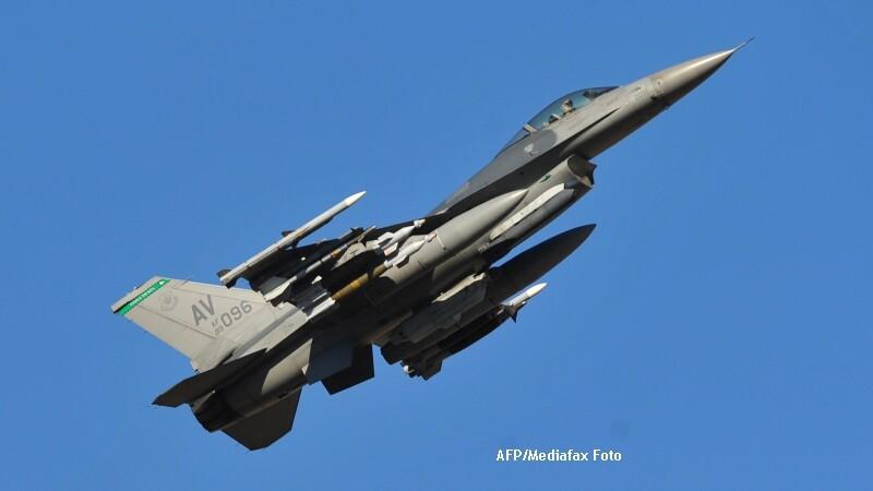 Guvernul a aprobat semnarea unui memorandum cu Portugalia pentru cumpararea celor 12 avioane F-16