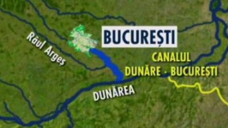 Visul lui Ceausescu poate fi indeplinit cu bani europeni:Cum arata planul Canalului Dunare-Bucuresti