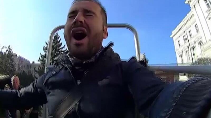 Experimentul politistilor din Arad pentru a-i convinge pe soferi sa poarte centura de siguranta. Reactia acestora dupa test