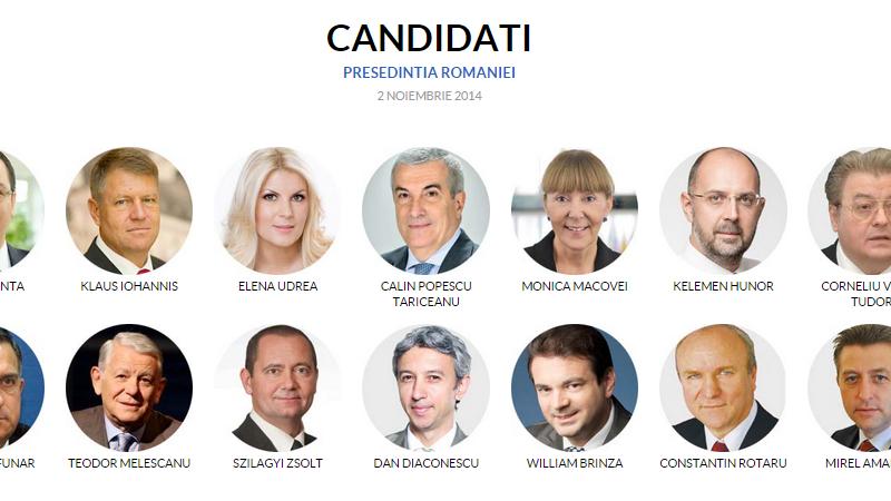 PORTRETELE celor 14 candidati la Alegerile Prezidentiale. Imagini unice din trecutul fiecaruia si povestea din spatele lor