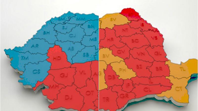 Cum s-a schimbat harta electorala a Romaniei in ultimii 10 ani. Legatura dintre optiunea de vot si baia in fundul curtii