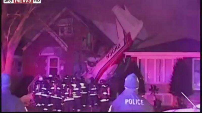 Accident aviatic in SUA. Pilotul unui avion de mici dimensiuni a murit, dupa ce s-a prabusit peste o casa din Chicago