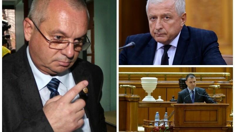 Parlamentarii Rosca si Adam au fost arestati iar Ion Dinita va fi cercetat sub control judiciar. Faptele de care sunt acuzati
