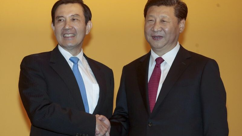 Intalnire istorica intre presedintele chinez si cel taiwanez, la Singapore.
