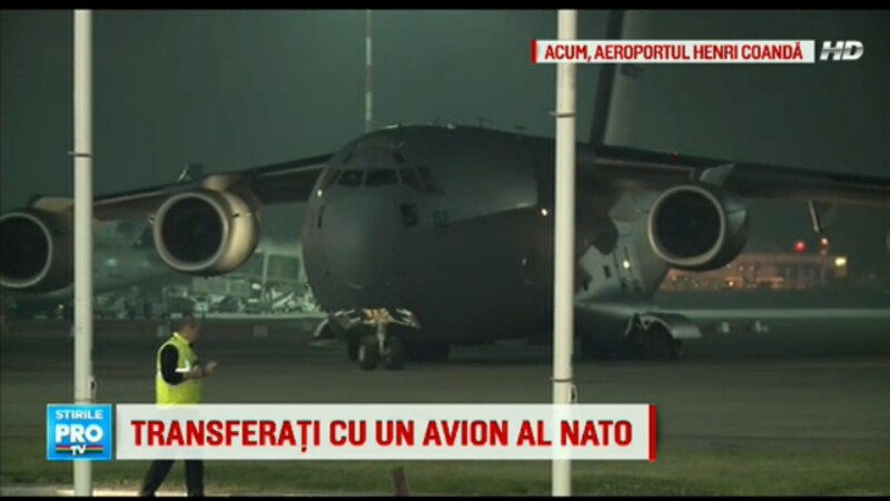 STAREA RANITILOR. 10 pacienti, transportati in spitale din Anglia, Finlanda si Norvegia cu un avion NATO C-17