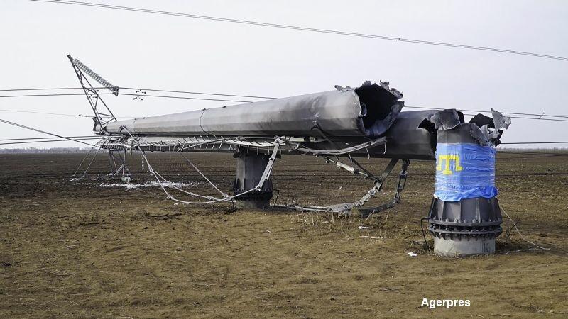 Stare de urgenta in Crimeea, dupa ce curentul electric furnizat de Ucraina a fost taiat. Pe cine dau vina Moscova si Kievul