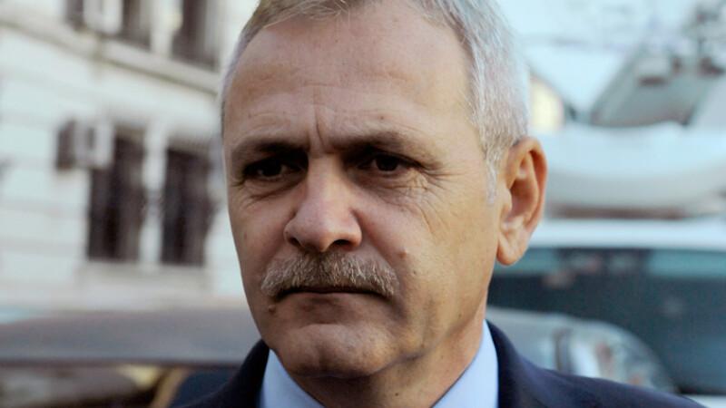 Presedintele PSD, Liviu Dragnea, s-a prezentat la ICCJ, unde se judeca un nou termen in dosarul