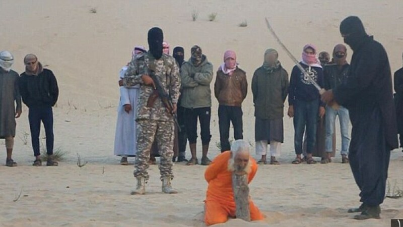 Batran de 100 de ani executat de ISIS, in Peninsula Sinai. Ce acuzatii i-au adus teroristii