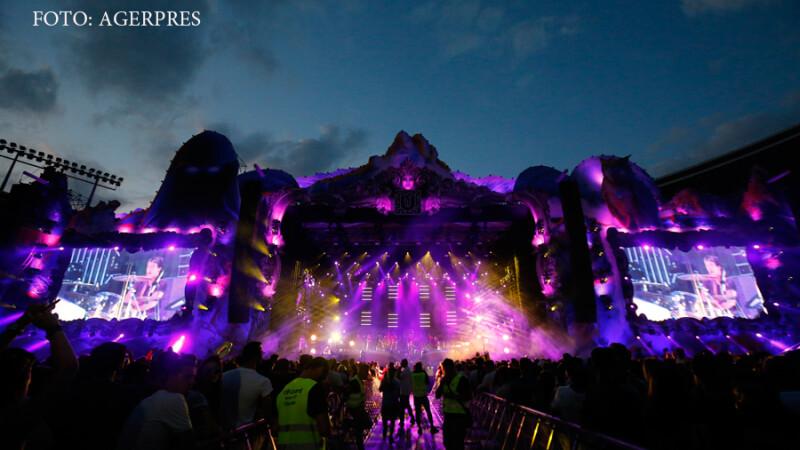 Formatia Faithless sustine un concert in cadrul festivalului Untold 2016, desfasurat pe Cluj Arena.