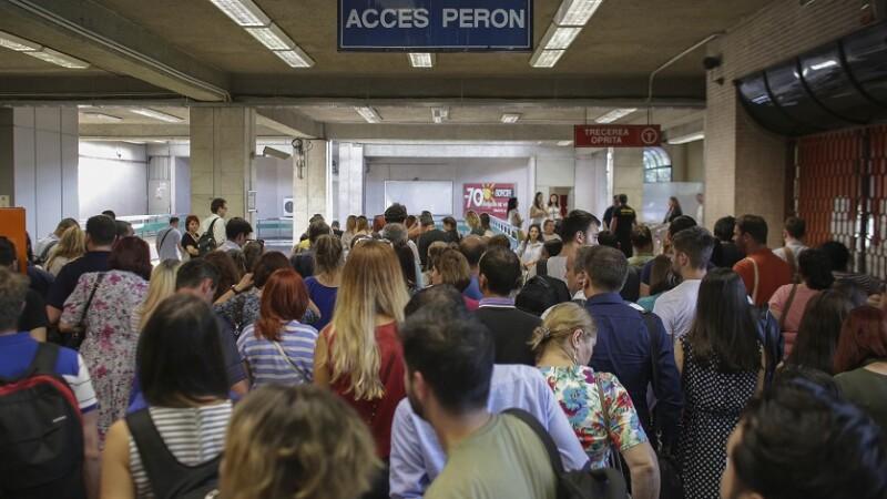 Nou incident la metrou, la 3 zile după scurtcircuitul care a dus la demiterea directorului