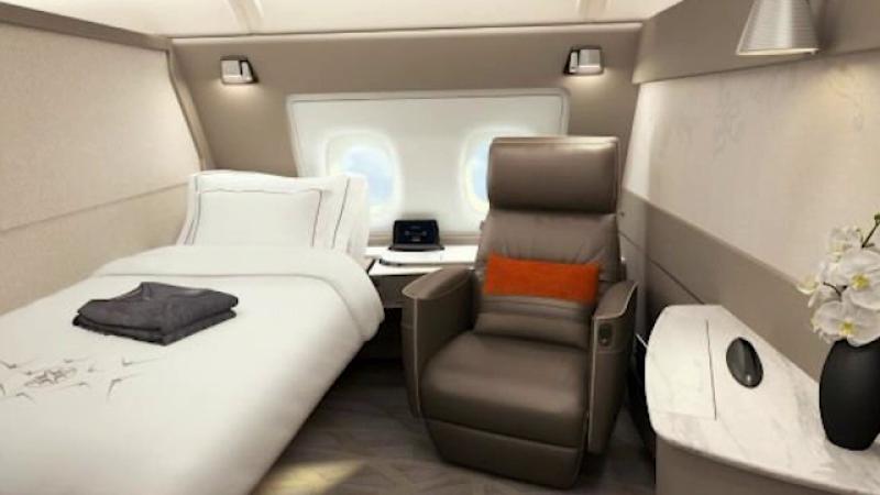 6.600 de dolari, pentru un mini-apartament la bordul unui avion