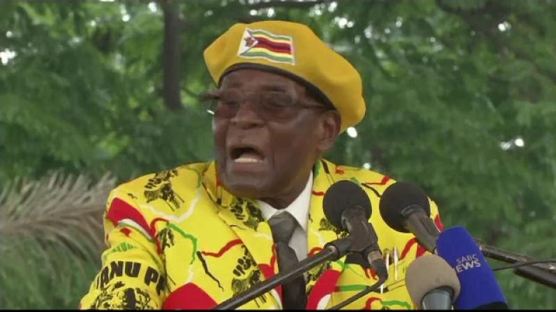 Mugabe și-a demis adjunctul pentru practici vrăjitorești. Și-a numit nevasta în locul lui