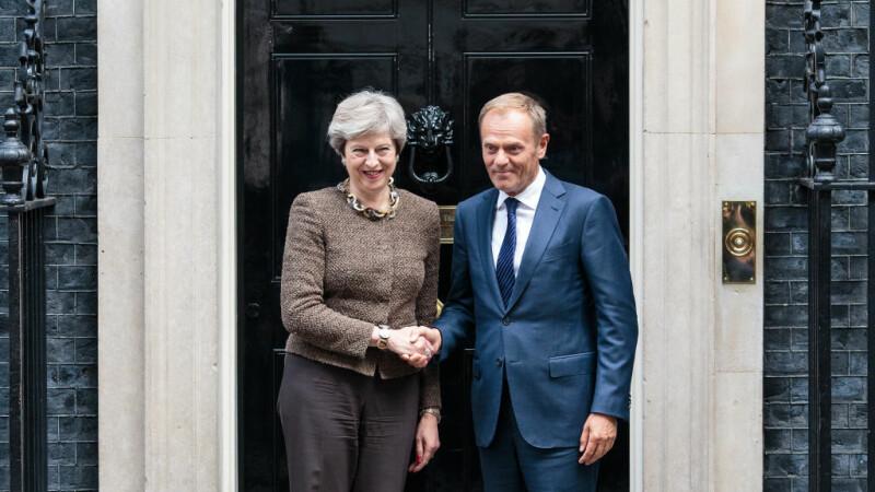 Donald Tusk i-a dat Theresei May un ultimatum în ceea ce privește negocierile pentru Brexit