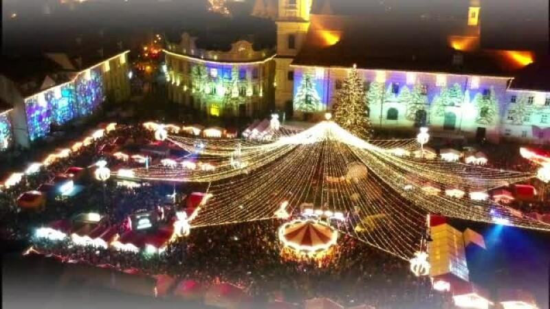 targ de craciun la Sibiu