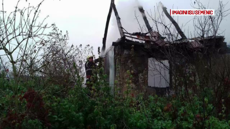 incendiu Caraș Severin