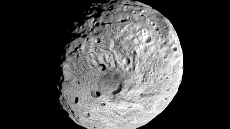 Un munte de 3 ori cat Everestul se afla pe un asteroid gigantic