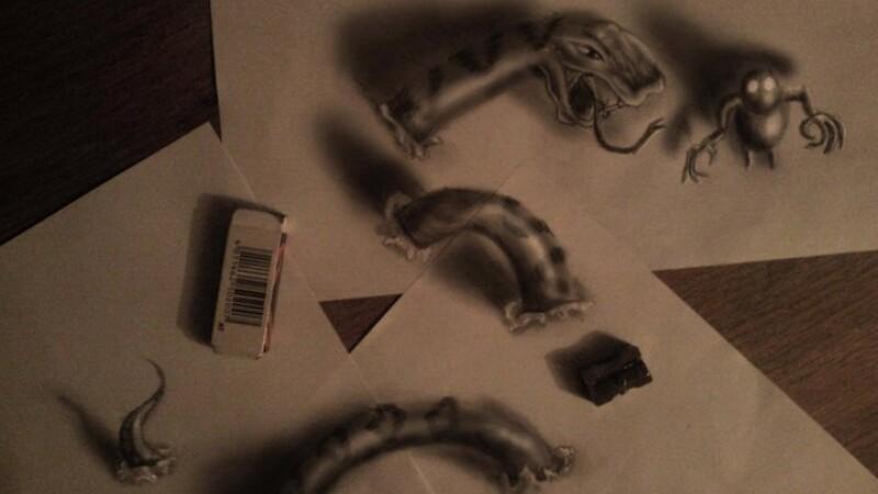 Desenele 3D ale unui artist olandez ce duc hiperrealismul intr-o noua dimensiune