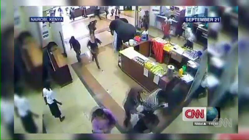 IMAGINI SOCANTE facute publice de CNN. Ce s-a intamplat in mall-ul din Nairobi in timpul atacului