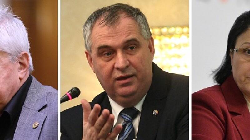 Senatorii au reusit sa-i mai scape putin pe doi fosti ministri de intalnirea cu procurorii. DNA are