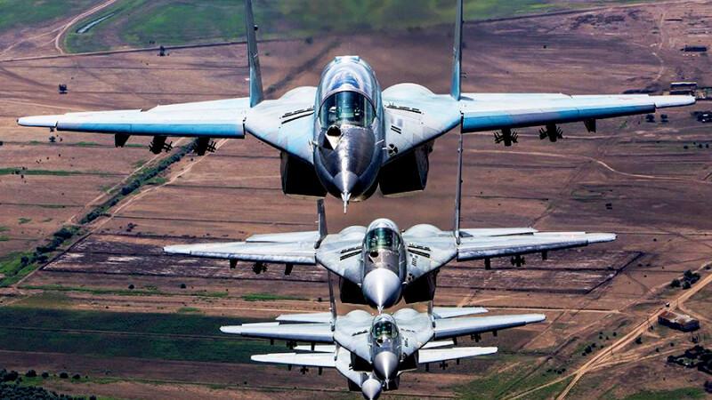 Aviatia rusa a bombardat Palmira si ar putea interveni si in Irak. Seful NATO: