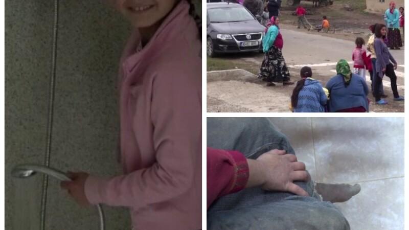 Francezii vor sa-i invete carte si sa se spele pe copiii romilor din Maramures. Localnic: