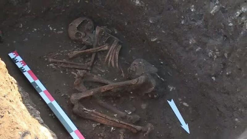 Descoperirea facuta intr-un mormant vechi de 5.000 de ani, din Prahova. Obiectul care i-a fascinat pe arheologi