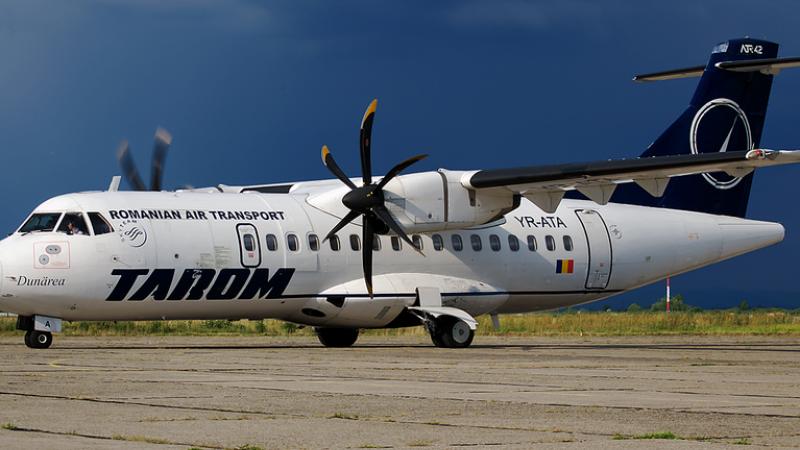 Cursa TAROM Bucuresti-Bruxelles, anulata miercuri dimineata. Alte 2 zboruri ale companiei au avut probleme in ultimele zile