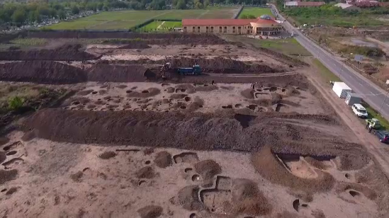 oradea, romania, sit arheologic,