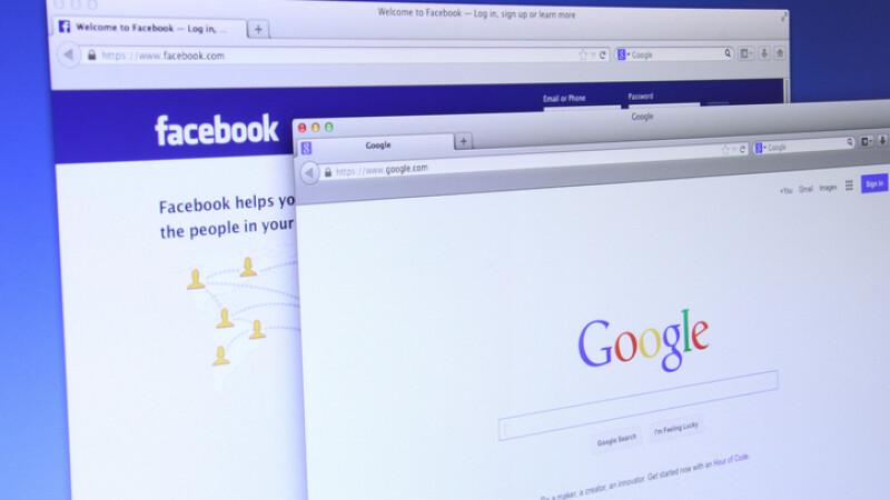 google si facebook