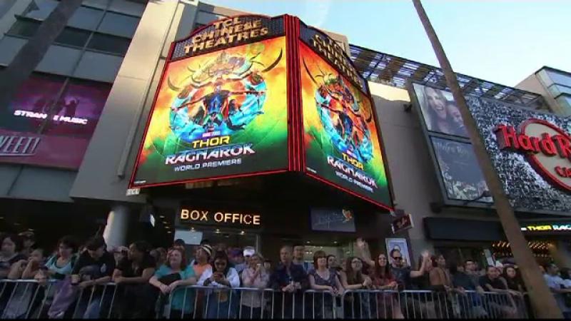 Cel mai nou film cu super-eroi a avut premiera la Los Angeles