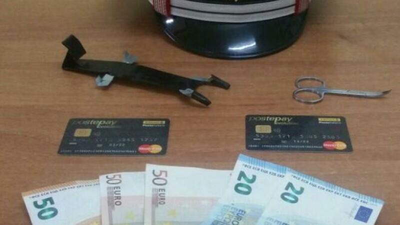 furt bancomate
