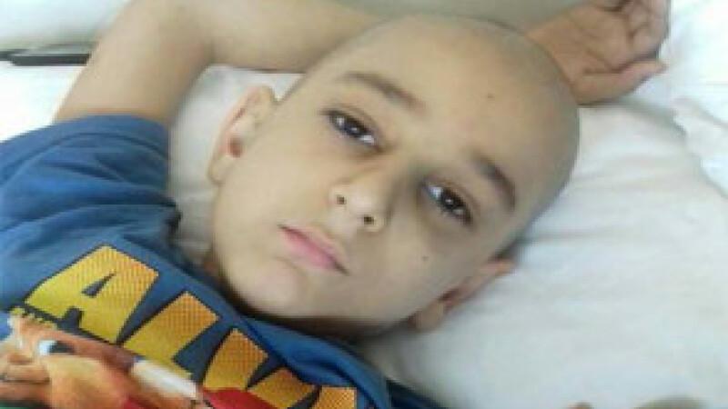 Copil bolnav de leucemie are nevoie urgentă de ajutor