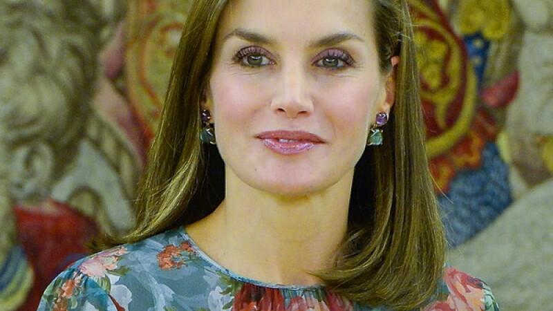 Regina Letizia a Spaniei, o apariție spectaculoasă într-o rochie de 350 de lei