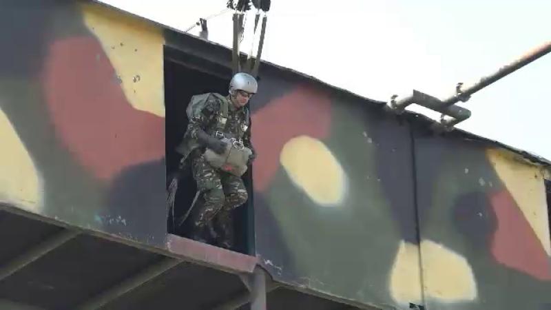 Exercițiu militar în Mureș