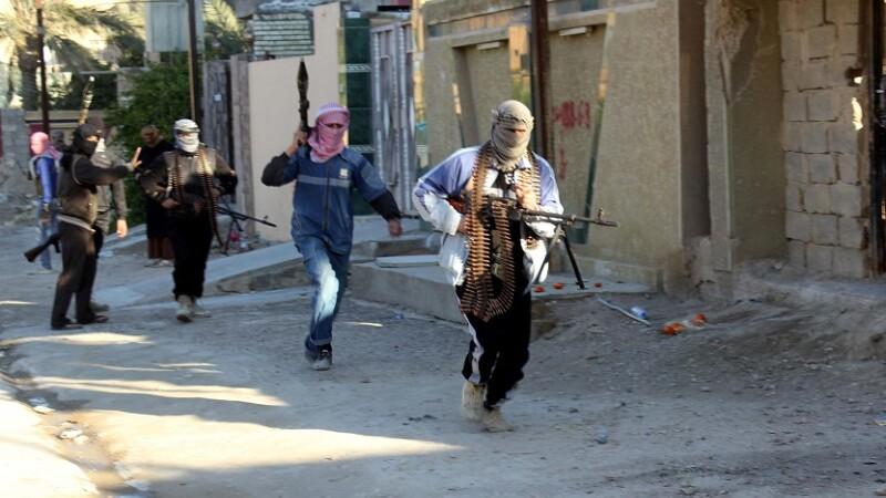 luptători ISIS în Irak