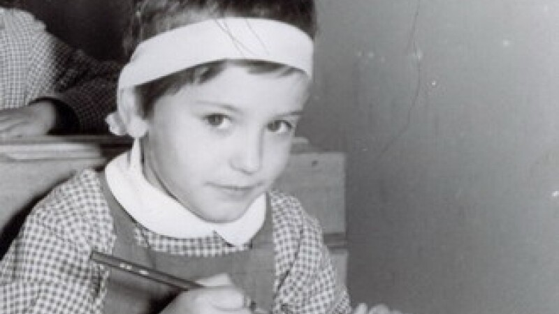 Andreea Esca, amintiri din prima zi de scoala!