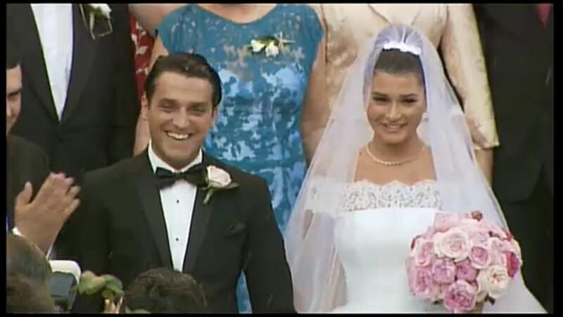Cum a decurs cea mai frumoasa zi din viata fiicei Presedintelui. Imagini de la nunta Elenei Basescu