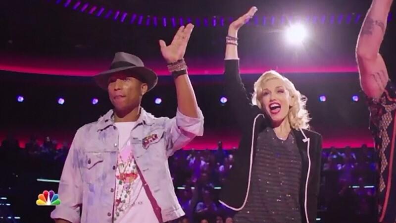 Gwen Stefani si Pharrell, noii antrenori in show-ul