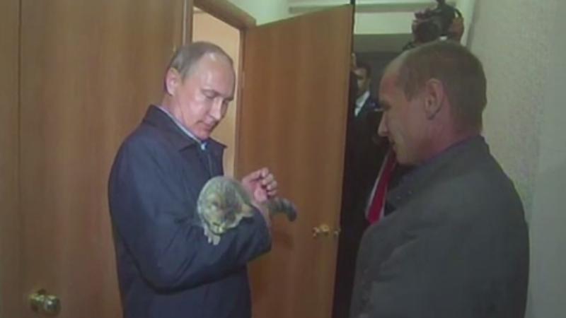 Cadoul inedit primit de Vladimir Putin in timpul unei vizite