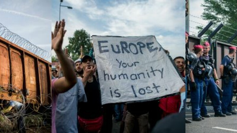 Ungaria, gata sa ridice un gard la frontiera cu Romania. Orban: