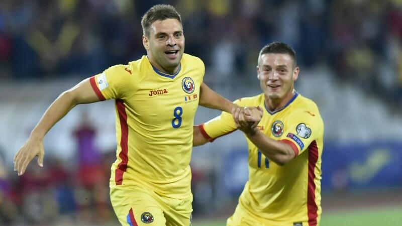 Romania - Muntenegru 1-1. Nicusor Stanciu a ratat incredibil un penalty la ultima faza a meciului