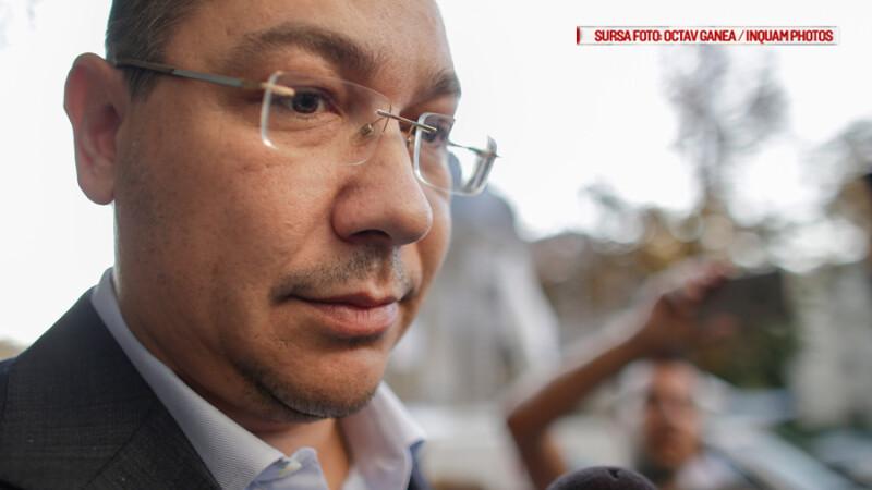 Ponta, intr-un interviu pentru AP, cere sprijin pentru Grindeanu. Teodorovici:
