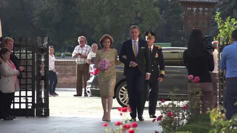 Principesa Margareta si Principele Radu au sarbatorit 20 de ani de casatorie. Ceremonia religioasa de la Alba Iulia