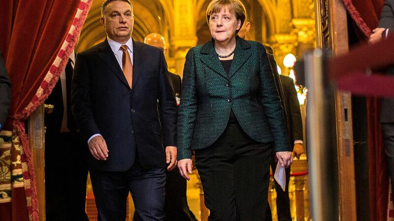 Angela Merkel avertizează Ungaria. Gestul