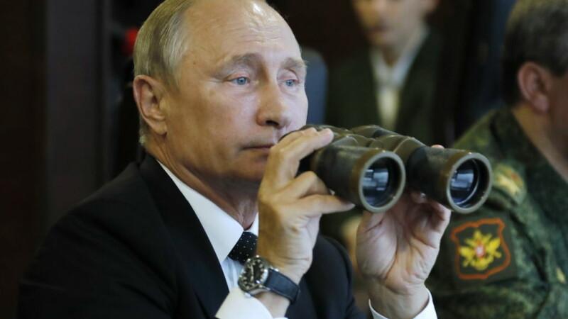 Putin la exercitiu Zapad 2017