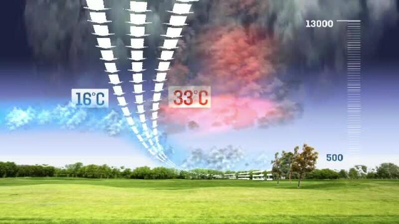 animatie grafica furtuna vestul tarii