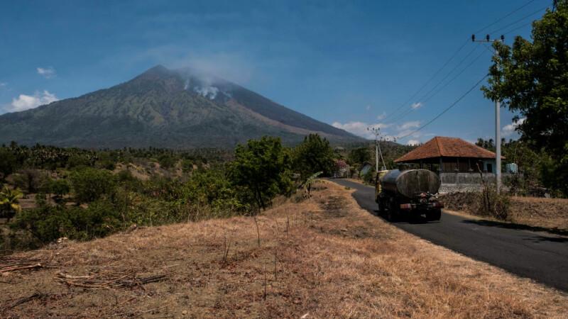vulcanul Agung din Bali